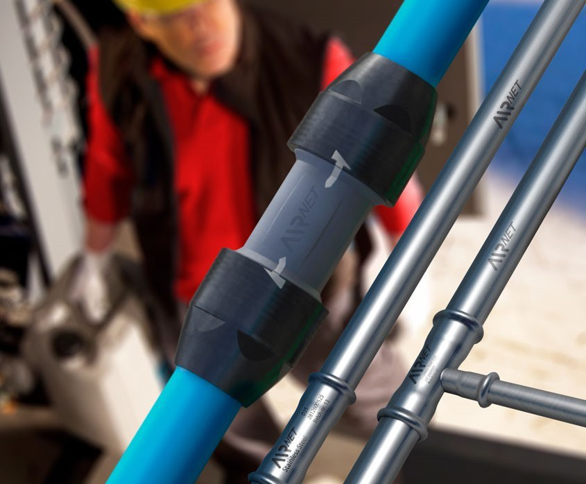 AIRnet™ compressed air piping system   Atlas Copco   ESI