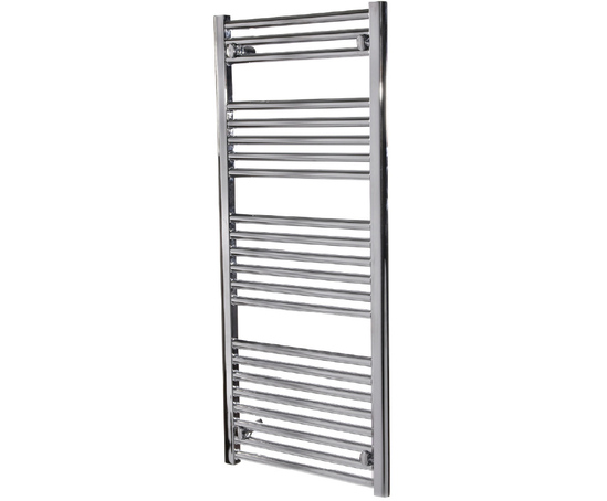 ladder towel rail with chrome finish