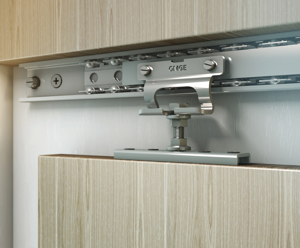 Trakkit Linear Straight Sliding Door Gear Kit Runners Sliding