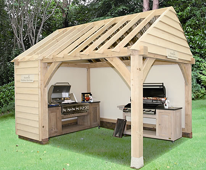 Elegant Oak Framed Garden Building