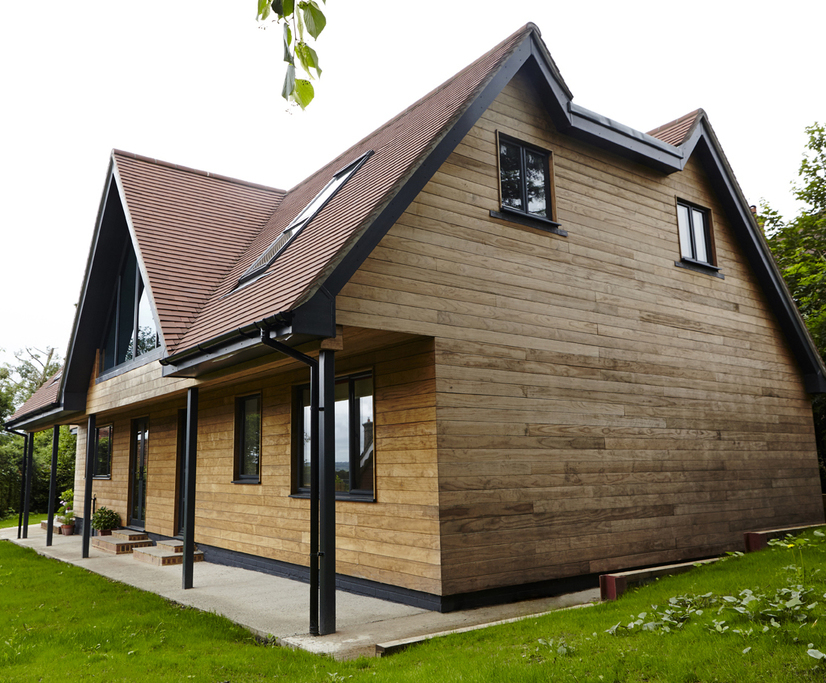 Thermory® thermo-treated timber wall cladding