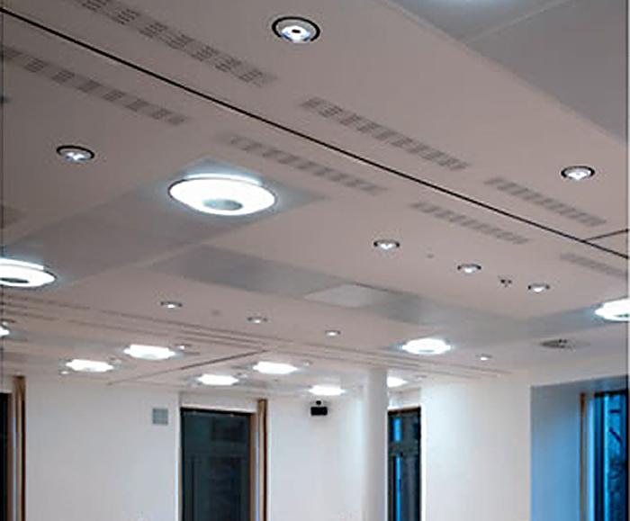 Downlights spotlights track lighting interior design feilo sylvania kometa circular modular fluorescent lighting fixture mozeypictures Image collections