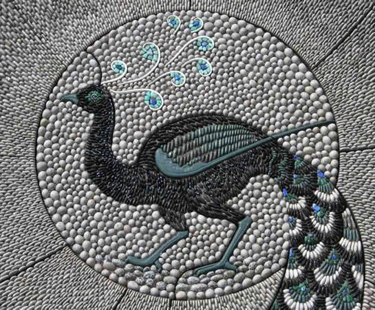 Peacock Mosaic Design, Chelsea