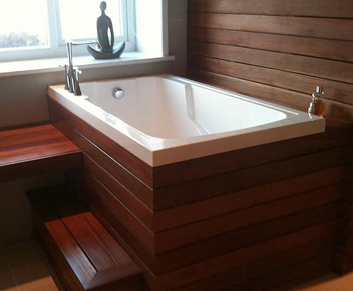 Nirvana Japanese-style deep-soaking tub | Design & Form | ESI ...