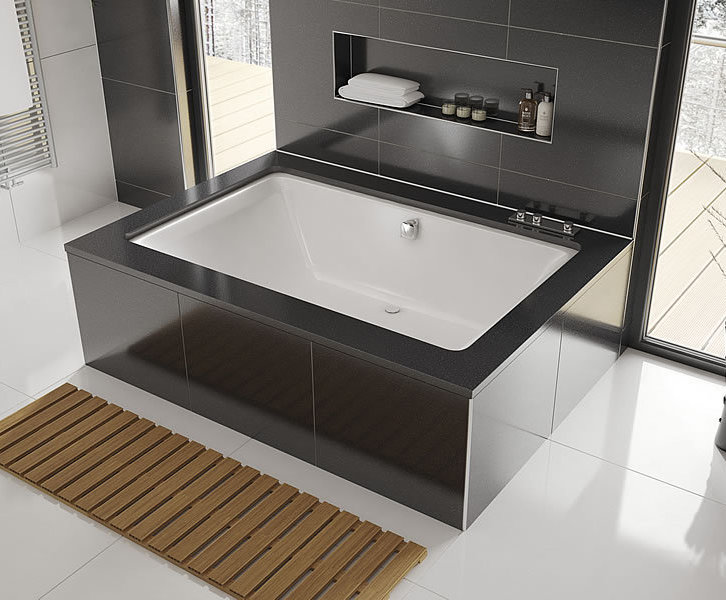 Serenity Plus Double Ended Inset Drop In Bath Design Form Esi