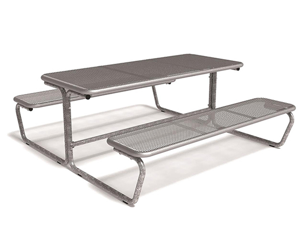 Parador Wire Mesh Picnic Table And Multiseat Unit Erlau AG ESI - Mesh picnic table