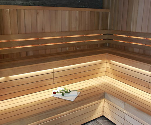 Bespoke dry sauna for Pennyhill Park Hotel & Spa