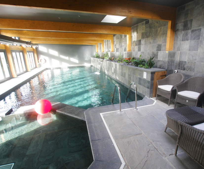 Lovely Indoor Natural Swimming Pool