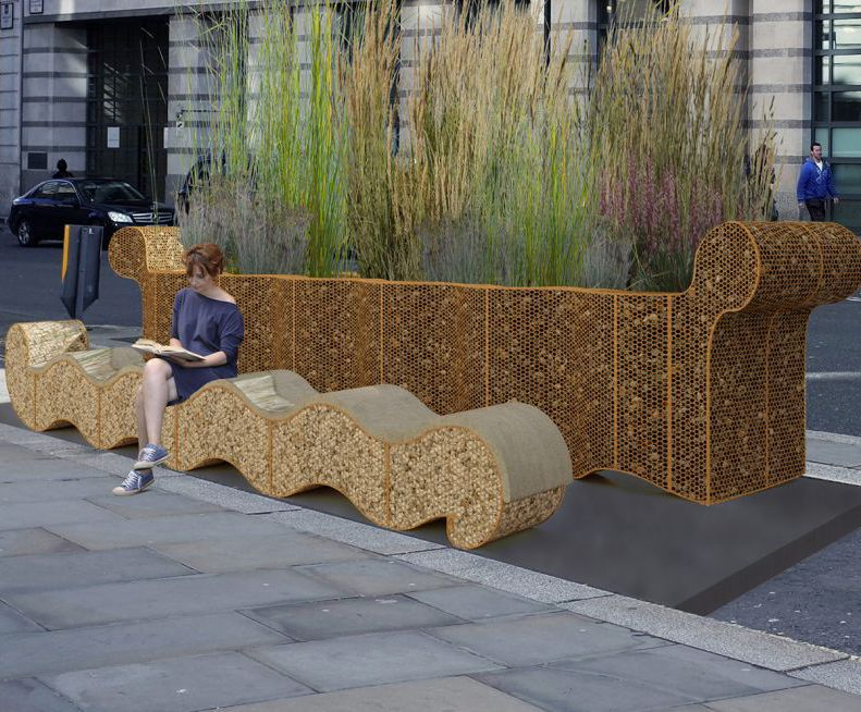 Planter and seat - London Festival of Architecture 2019
