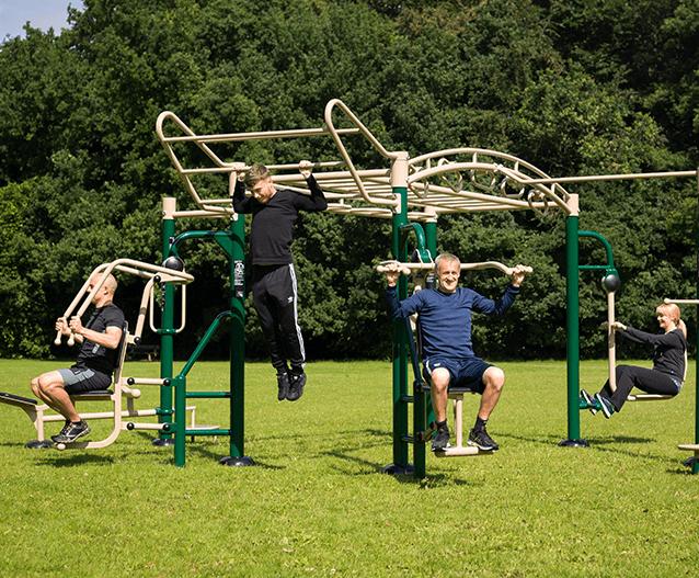 3e86b6a49 Big Rig outdoor gym | Fresh Air Fitness | ESI External Works