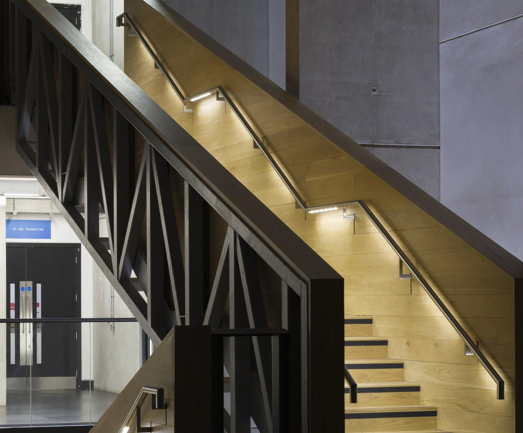 Garda handrails light the way for Manchester students & Garda handrails light the way for Manchester students | DW Windsor ...