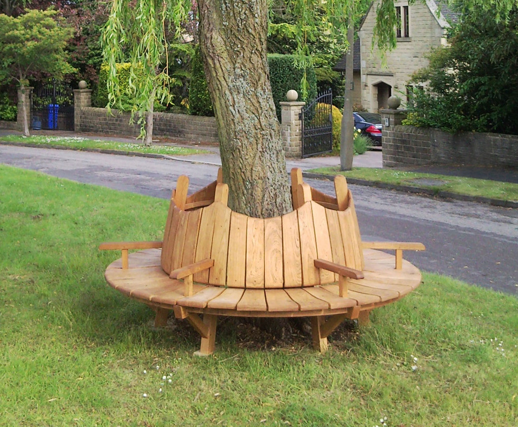 Tree Stump Seats Bespoke Timber Tree Seats Handspring Design Esi External Works