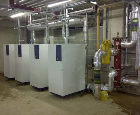 Gas-fired boiler/heating system, student accommodation | MHG Heating ...