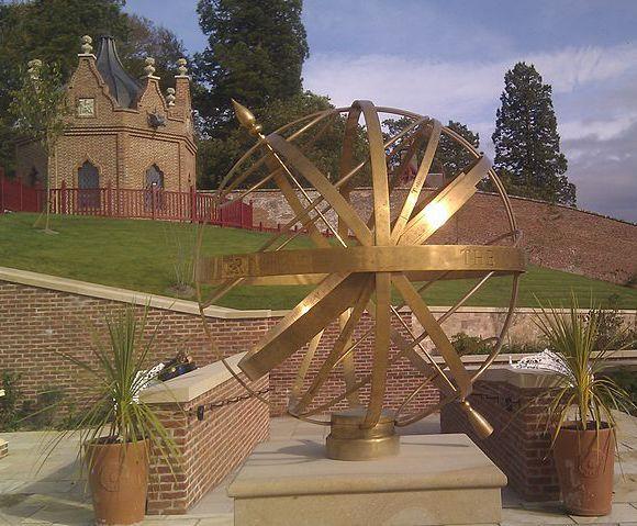 Armillary Sphere Sundial, Queen Elizabeth Garden