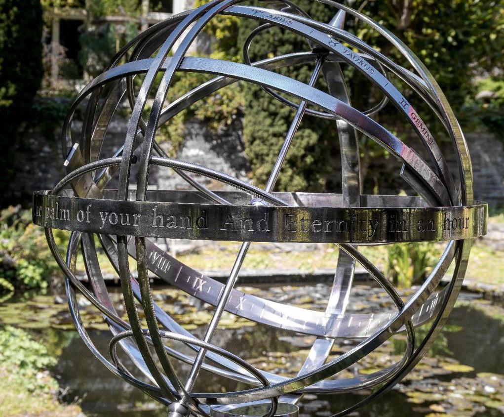 600mm Stainless Steel Armillary Sphere