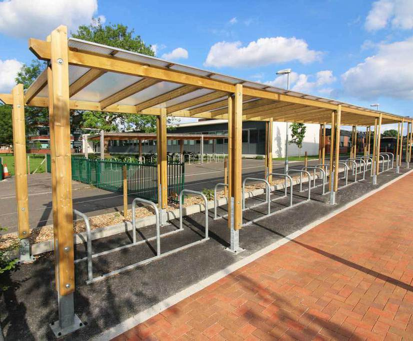 Sheldon Cycle Shelter   SCS301
