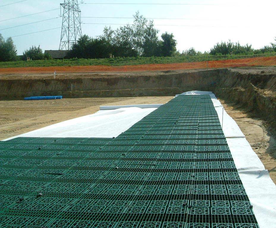 Lotrak® 50R woven polypropylene (PP) geotextile   Don & Low
