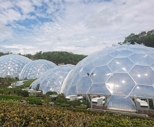 Fabric ducting for the Eden Project restaurants
