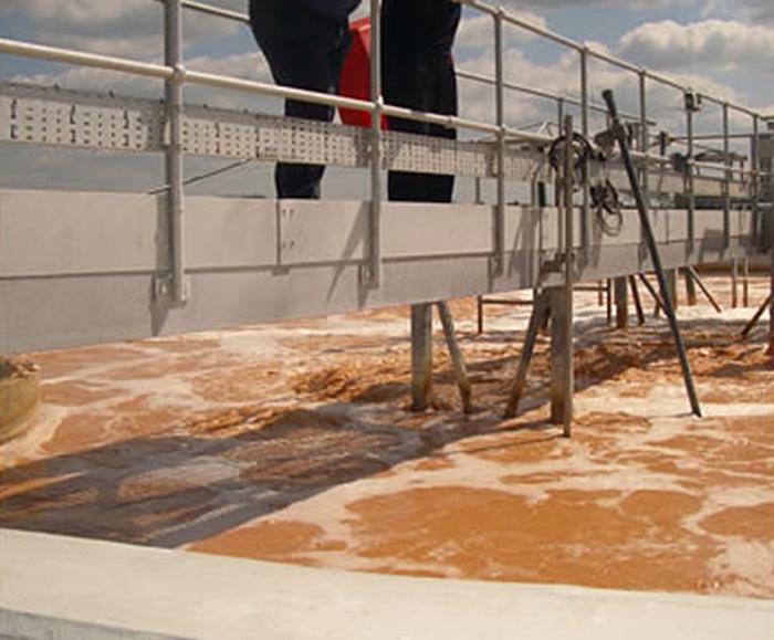 Activated sludge treatment for industrial effluent