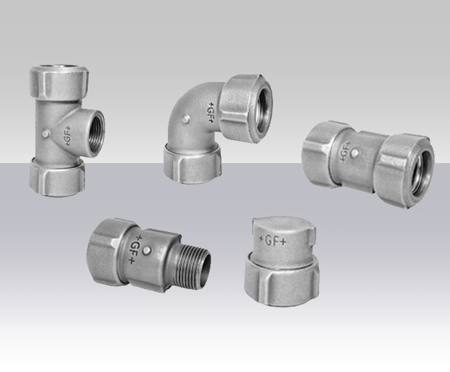 PRIMOFIT cast iron compression fittings | George Fischer