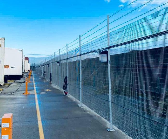 Perimeter intrusion detection system - Tilbury Port