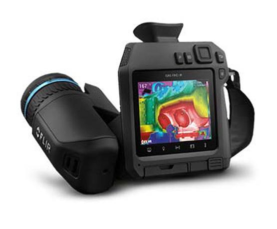 FLIR GF77 infrared optical gas imaging (OGI) camera