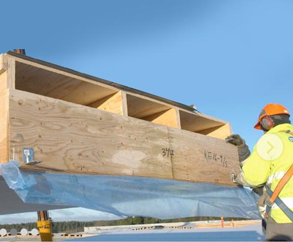 Kerto-Q laminated veneer lumber