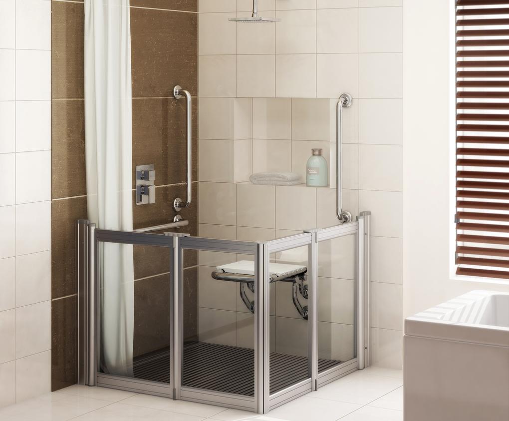 Aluseal Half Height Shower Enclosures Neaco Esi Interior Design