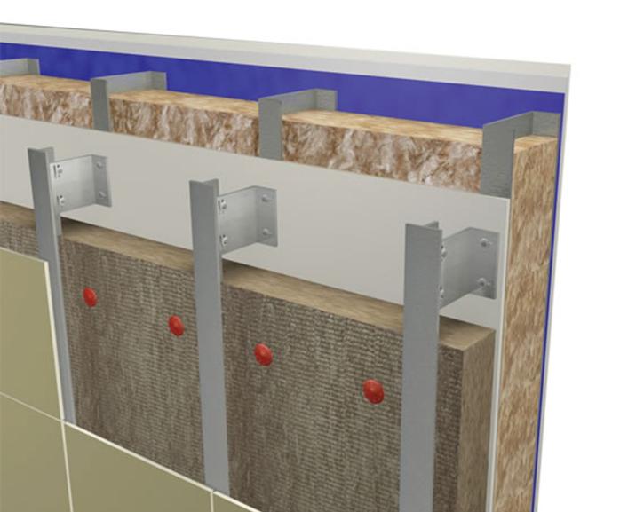 Er05 rainscreen cladding insulation | Knauf Insulation | ESI