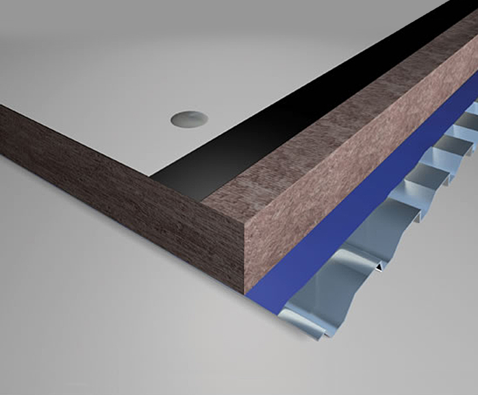 FL01 warm deck flat roof insulation | Knauf Insulation | ESI
