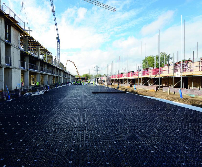 Permavoid SuDS solution for Walthamstow Stadium