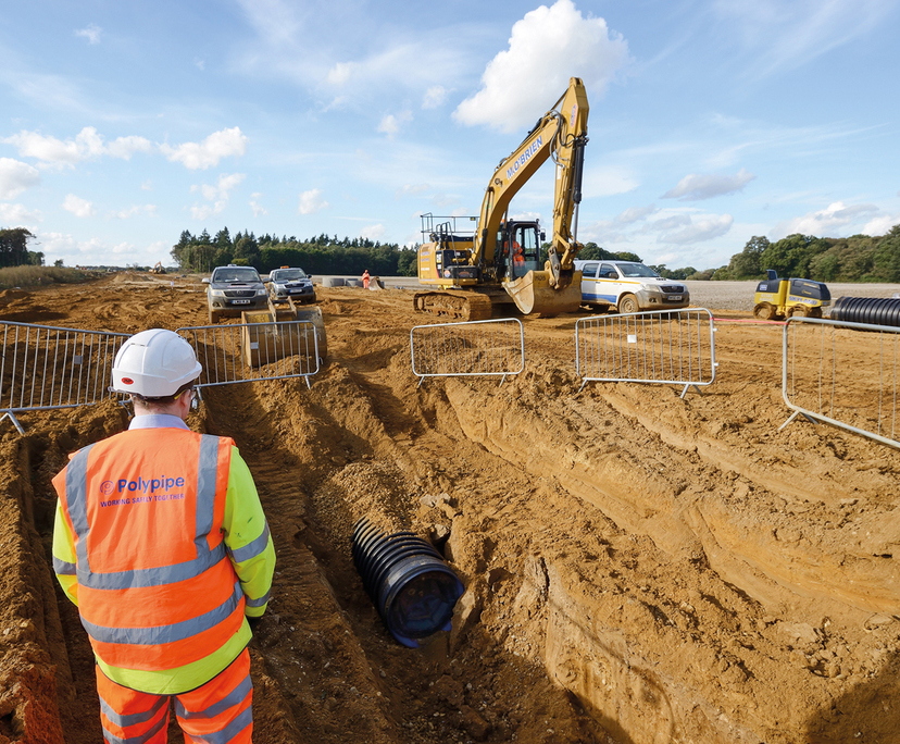 Drainage solutions - Norwich Northern Distribution Road