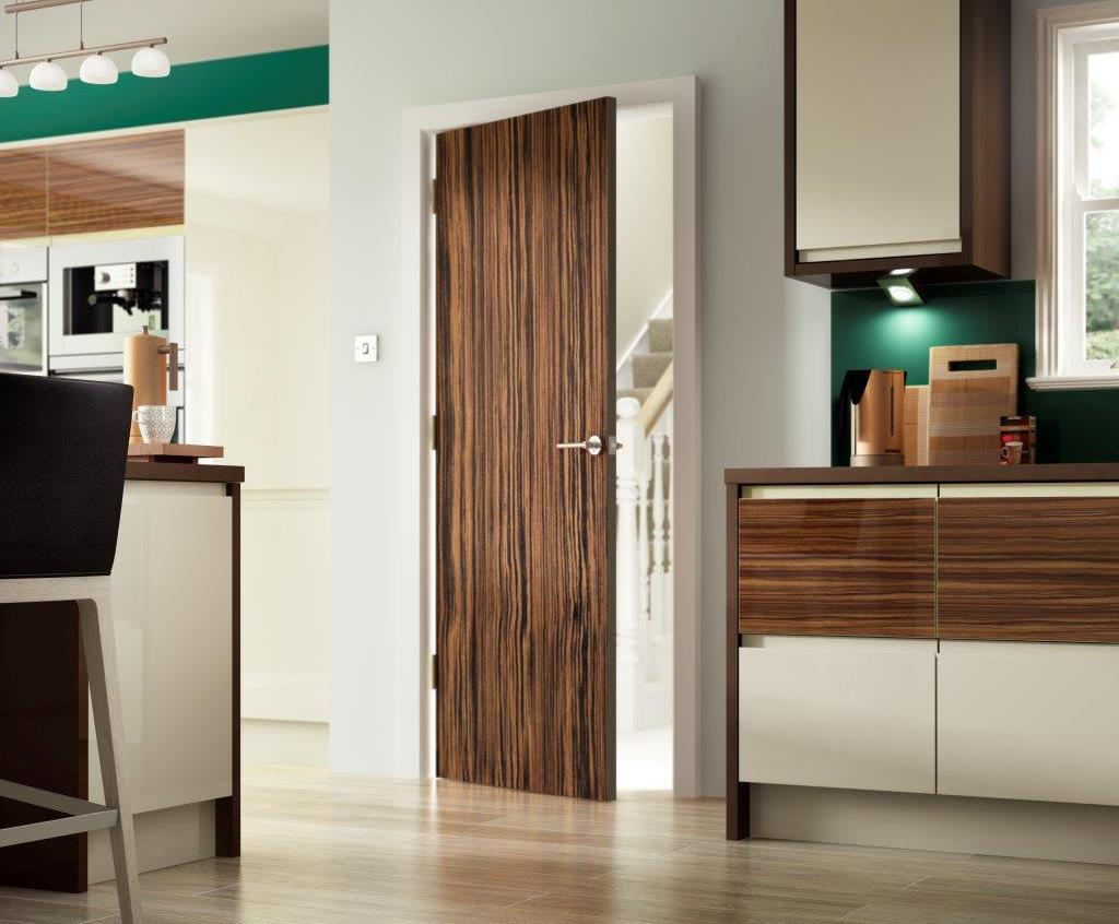 Ebony Vertical Internal Door & Portfolio™ Exotic Ebony Vertical internal door | Premdor | ESI ...