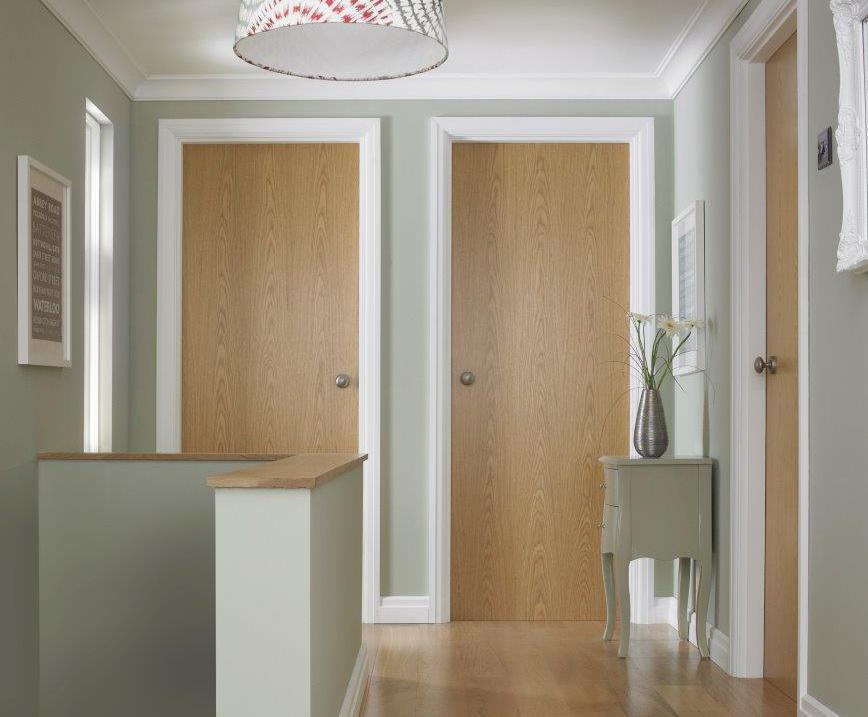 Portfolio Classic Oak Vertical Internal Door Premdor Esi