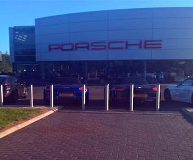 AUTOPA access control for Porsche's East London showroom