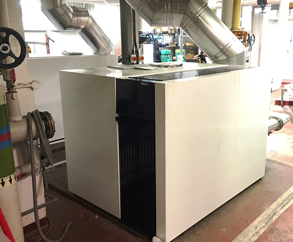 Seamless installation of new boilers in 60-bedroom hotel