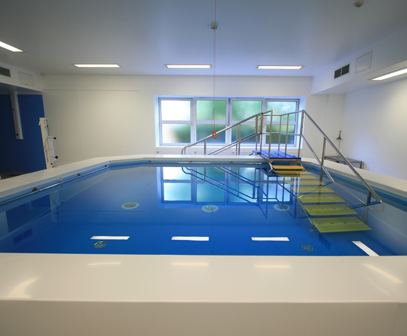 chelsea westminster hospital hydrotherapy pool