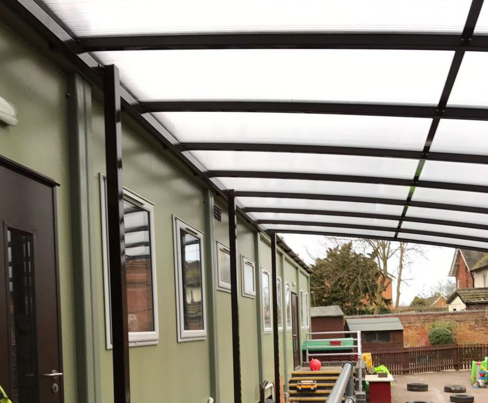 Freestanding Shelter / Canopy & Winterbourne freestanding Canopy | NBB Outdoor Shelters | ESI ...