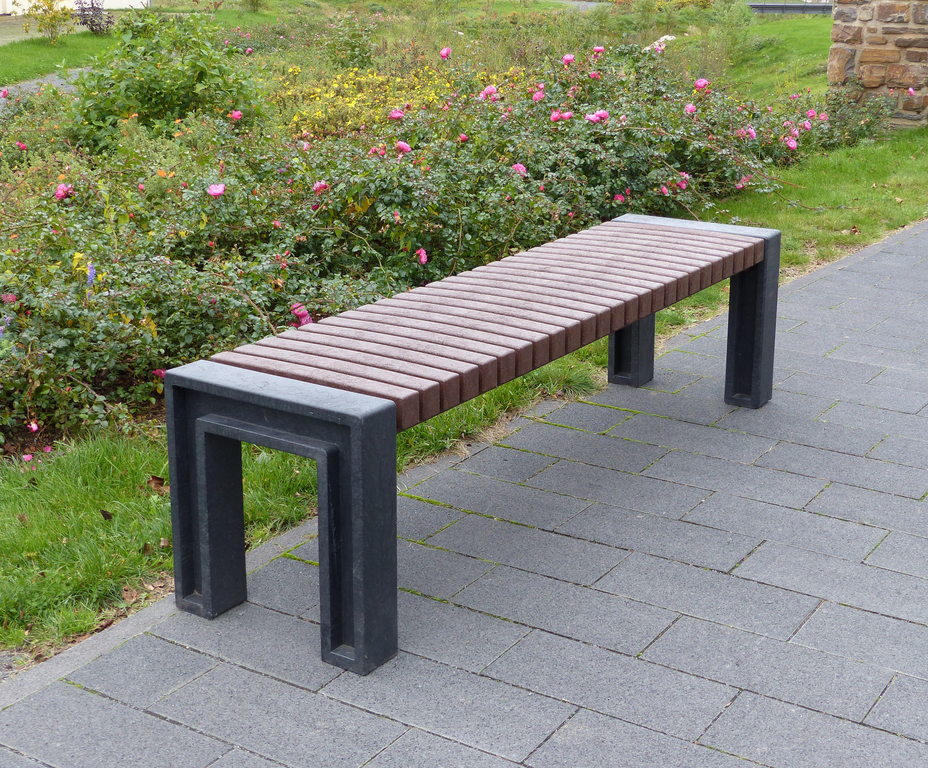 Fantastic Perth 100 Recycled Plastic Deluxe Backless Bench Nbb Caraccident5 Cool Chair Designs And Ideas Caraccident5Info