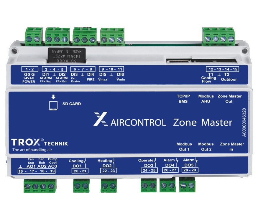 Demand-based room control with X-AIRCONTROL