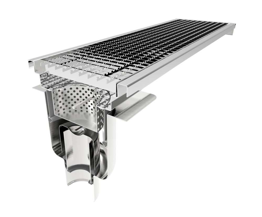 300mm Channels for Commercial Kitchen Drainage | Component ...