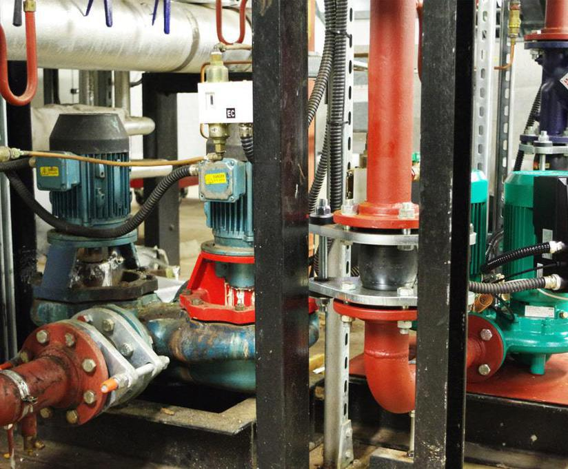 Wilo pumps help energy efficiency for Noble's Hospital