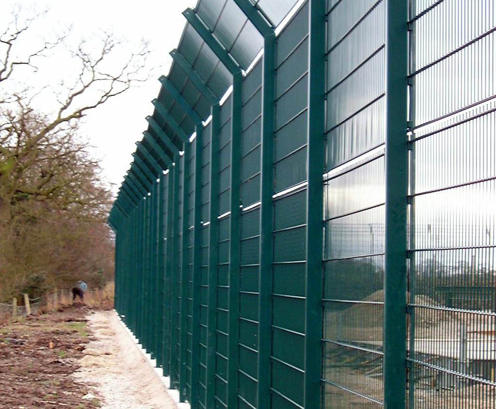 Fencing protects underground gas storage chambers | Zaun | ESI ...