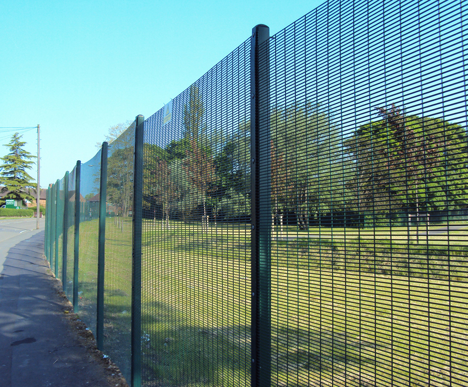 Wire Mesh Fencing | Secureguard 358 High Security Wire Mesh Fencing Barkers Fencing