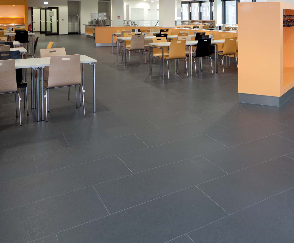 norament 926 serra textured rubber floor tiles | nora® flooring ...