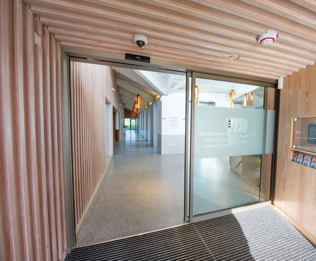 Door operators for historic Bannockburn Visitor Centre