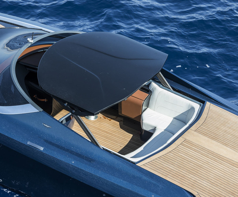 Bespoke Hinges For New Aston Martin Powerboat Good Directions