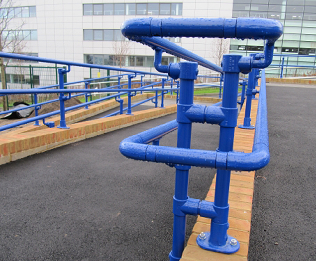 Brighton University handrail created with Kee components