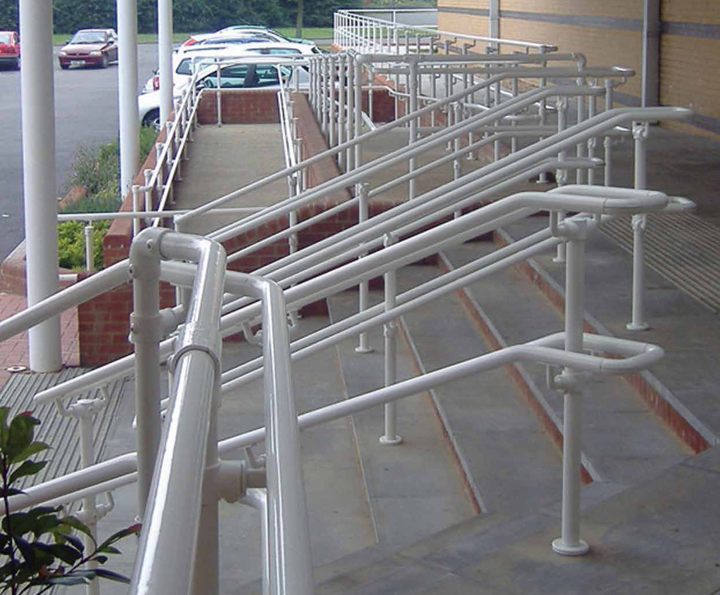 Kee Klamp® fittings for safety barriers and railings