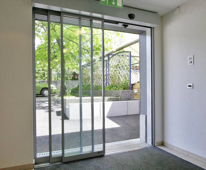 Telescopic automatic sliding door operator - TORMAX & Slimline telescope door automation - sliding doors | TORMAX United ...